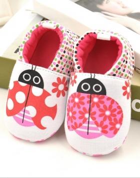 Sepatu Anak Bayi Impor Motif Kumbang