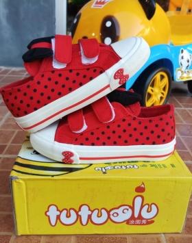 Sepatu Anak Pita Merah Bahan Berkualitas Impor