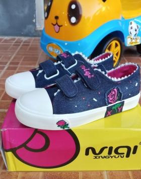 Sepatu Anak Jeans Bunga Mawar Harga Murah