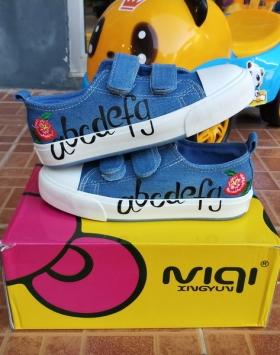 Sepatu Anak Jeans Biru Asli Import