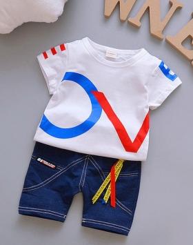 Baju Kaos Anak Lengan Pendek