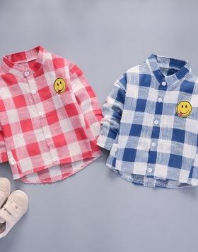 Baju Kemeja Anak Lengan Panjang