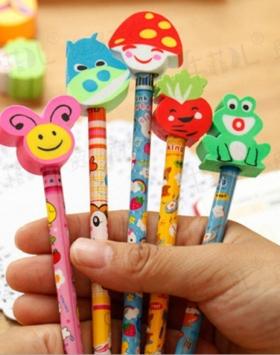 Pensil Dan Penghapus Lucu