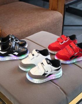 Sepatu Lampu Led Anak Anak