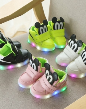 Sepatu Lampu Led Anak Perempuan Laki Laki