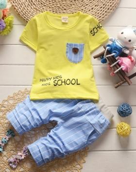 Setelan Kaos Anak Kecil Umur 1-3 Tahun