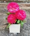 Hiasan Bunga Dahlia Warna Merah