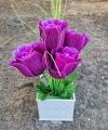 Hiasan Bunga Mawar Terindah Warna Ungu