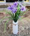 Bunga Iris Purple