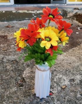 Bunga Matahari 2 Warna