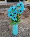 Bunga Matahari Biru Langit