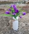 Bunga Buket Warna Ungu