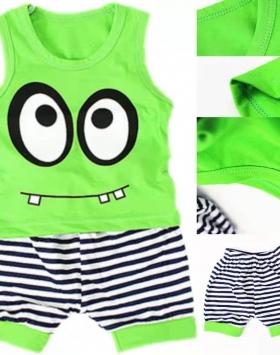 Baju Setelan Anak Tanpa Lengan Impor