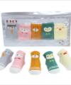 1 Set Kaos Kaki Bayi Gambar Hewan Lucu