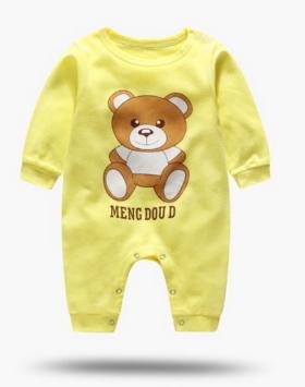 Jumpsuite Bayi Karakter Beruang