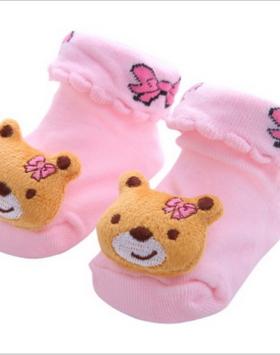 Kaos Kaki Bayi Bentuk Teddy Bear