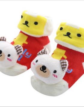 Kaos Kaki Bayi Gambar Beruang Salju