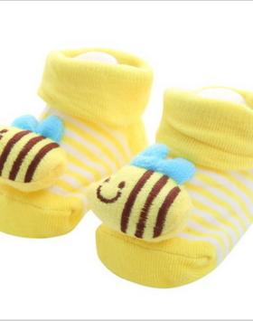 Kaos Kaki Bayi Karakter Lebah Madu Impor