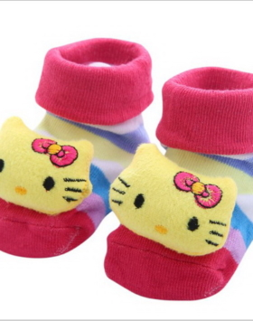 Kaos Kaki Bayi Kartun Hello Kitty