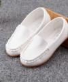 Sepatu Loafers Anak Warna Putih Impor