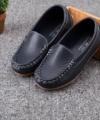 Sepatu Loafers Anak Warna Navy Impor