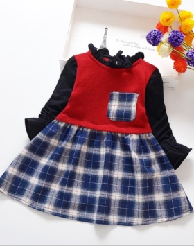 Baju Dress Anak Cewek Fashion Korean Style