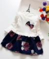 Dress Anak Cewek Flower Blossom White Impor