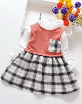 Baju Dress Anak Perempuan Terkini Impor