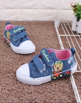 Sepatu Anak Bahan Jeans Impor 2020