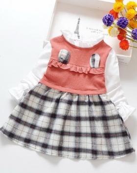 Baju Dress Anak Cewek Model K-Pop