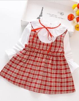 Dress Anak Model Rompi Korea