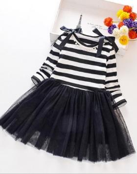 Gaun Anak Perempuan Usia 4-8 Tahun