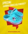 Sandal Crocs Jelly Mickey
