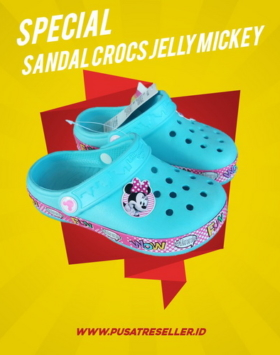 Sandal Crocs Jelly Mickey