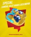 Sandal Jelly Anak Lucu Impor