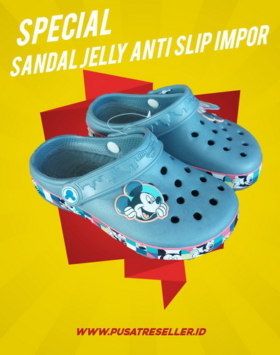 Sandal Jelly Anti Slip Impor
