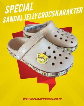 Sandal Jelly Crocs Karakter