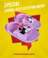 Sandal Jelly Cute Pink Impor