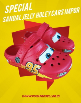 Sandal Jelly Holey Cars Impor