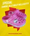 Sandal Jelly Holey Hello Kitty