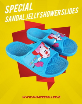 Sandal Jelly Shower Slides