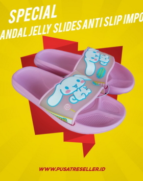 Sandal Jelly Slide Anti Slip Impor