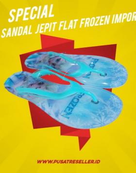 Sandal Jepit Flat Frozen Impor