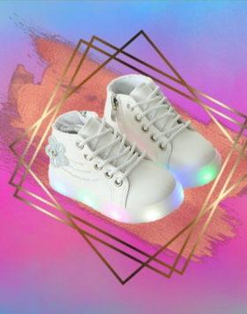 Sepatu LED Sneakers Dance Style