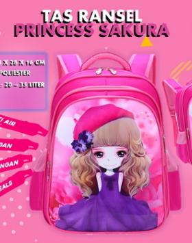 Tas Ransel Anak Princess Sakura
