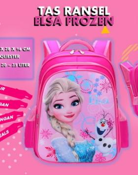 Tas Ransel Sekolah Frozen Elsa