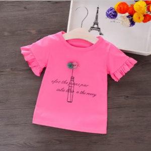 Atasan Kaos Lengan Pendek Anak Perempuan