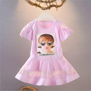 Dress Kaos Anak Perempuan Korean Style 2020