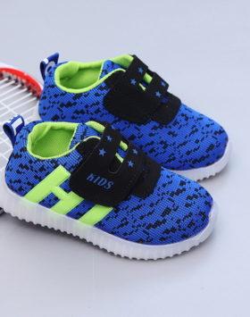 Jual Sepatu Anak Sport LED Terkini