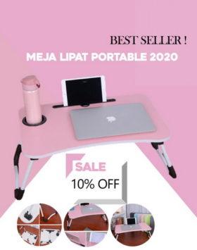 Meja Lipat Portable Impor Terbaik